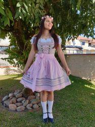 Vestido tradicional importado