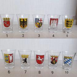Mini copo de vidro